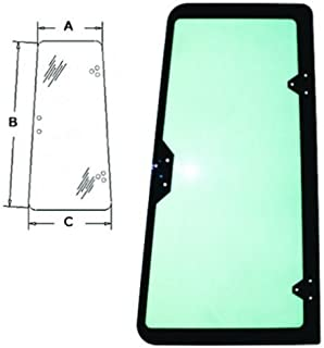 All States Ag Parts Cab Glass - Door Rear LH Case 570MXT 580SK 580L 570LXT 590 580K 580 Super L R54107