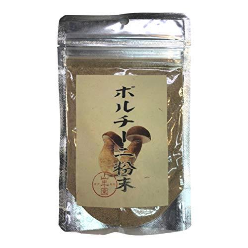 本場イタリア産無農薬100% ポルチーニ茸の粉末 40g 巣鴨のお茶屋さん 山年園