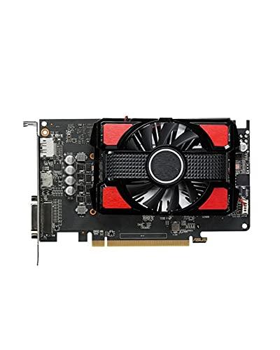 Mini Tarjeta gráfica Fit For ASUS RX 550 Tarjeta de Video de 4GB AMD Radeon RX550 4G Tarjetas gráficas GPU PUBG Juego de computadora PC de Escritorio Mapa 570560550 VGA DVI