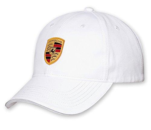 Unbekannt Porsche Cap Mütze weiß mit Wappen