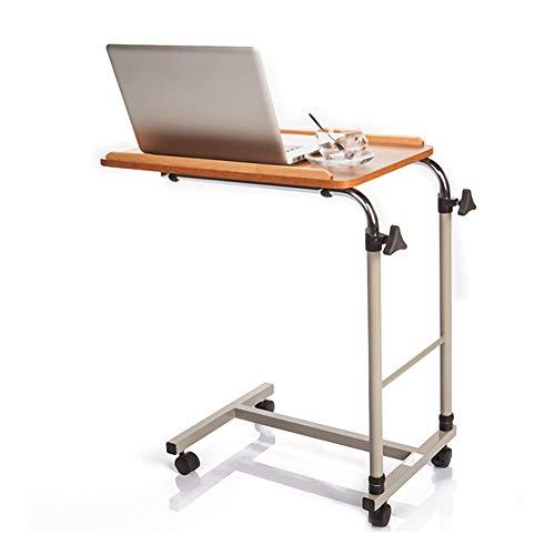 Mobiler Aufzug Bett Beistelltisch Höhen- Und Winkelverstellbarer, Tragbarer Und Stabiler Laptop-Schreibtisch Mit Rädern Für Die Krankenhauspflege