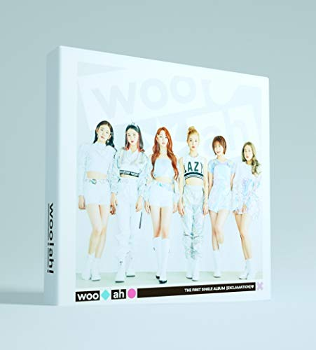 NV Entertainment woo!ah! - Exclamation (1st Single Album) Album+Folded Poster