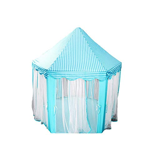 HIGHKAS Children's Indoor Tulle Hex Tent Baby Decoration Play House Princess Game Castle Tent Toy House