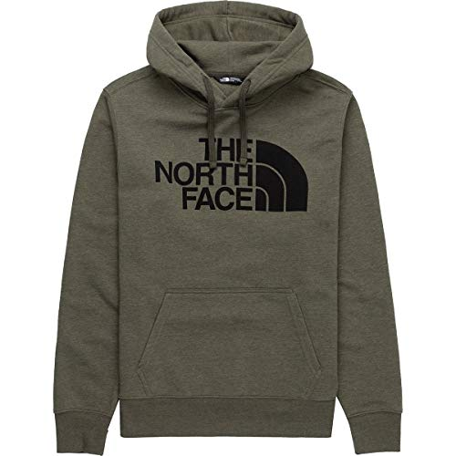 The North Face Men's Half Dome Pullover Hoodie, New Taupe Green Heather, L