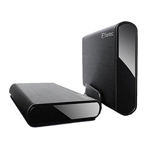 FANTEC dB-ALU3-6G Externes Festplattengehäuse (für 8, 89 cm (3, 5 Zoll) SATA i/II/III Festplatte, Unterstützt SATA III 6G Festplatten und Usap, USB 3.0 SuperSpeed Anschluss, Aluminium Gehäuse)