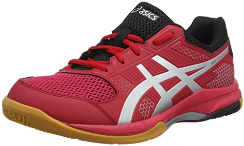 Asics Herren Gel-Rocket 8 Multisport Indoor Schuhe, Red (Silver/ Samba), 44 EU (9 UK)