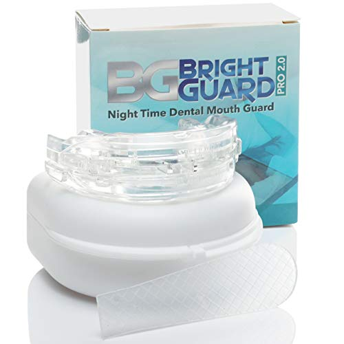Bright Guard 2.0 Adjustable Night Sleep Aid Bruxism Mouthpiece Mouth Guard