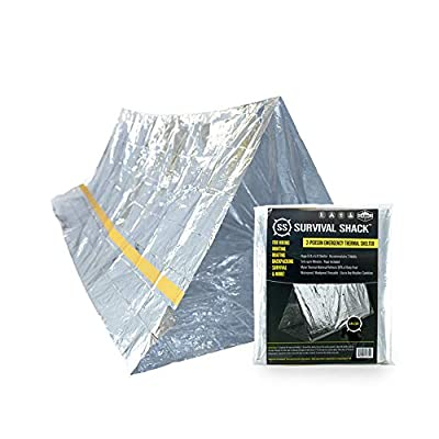 Mylar Thermal Emergency Survival Shelter Tent By Sharp Survival