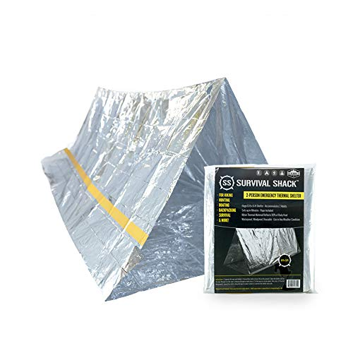 SharpSurvival Emergency Survival Shelter Tent | 2 Person Mylar Thermal...