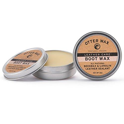 Otter Wax Boot Wax | 57 ml | komplett natürliches Leder Imprägnierung | Hergestellt in den USA