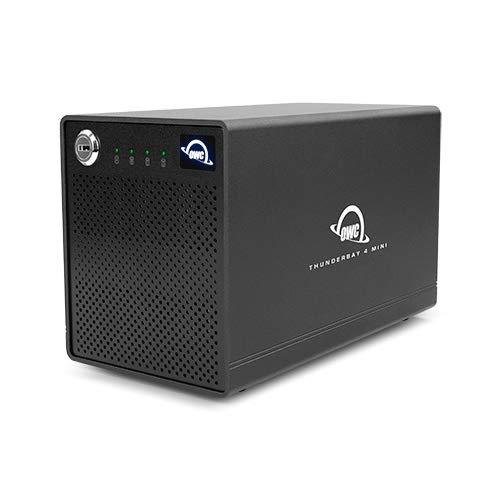 OWC ThunderBay 4 Mini RAID 4-Bay External Drive w/ Thunderbolt3 Ports