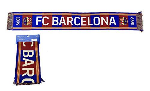 Bufanda Telar nº 27 FC. Barcelona 1899 – Producto con Licencia – 100% Acrilico – Medidas 140x20 cm.