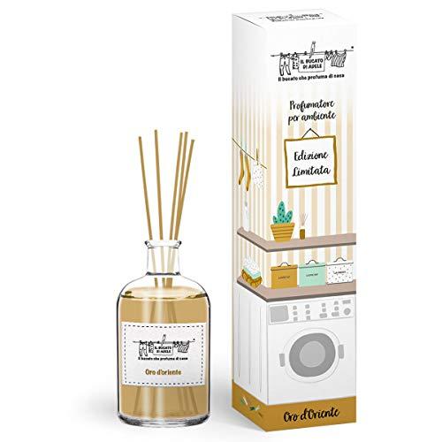 Il Bucato di Adele Profumatore per Ambiente Oro d' Oriente con Stick 200 ml