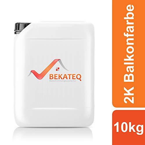 BEKATEQ 2K Epoxidharz für Balkonsanierung BK-300EP - RAL1015 Hellelfenbein - 10KG
