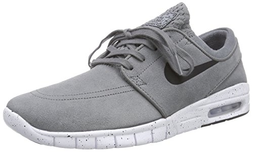 Nike Herren Stefan Janoski MAX L Low-Top, Grau (011 COOL Grey/Black-White), 40 EU