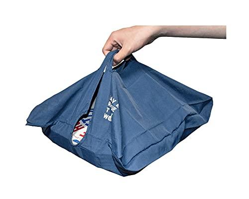これでお寿司やケーキが寄らずに済む!大きくて平べったいモノ専用のエコバッグ