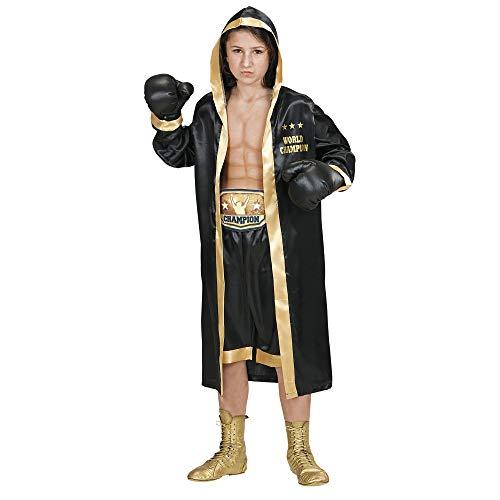 WIDMANN 19297Disfraz para Niños Boxer World Champion,, 140