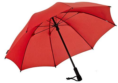 Euroschirm Swing der Sonnen-, Wander-, Regen- & Trekkingschirm Farbe rot