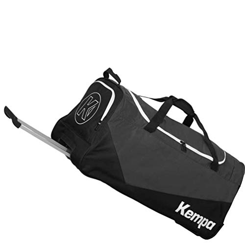 Kempa Sporttasche Trolley Teamline MEDIUM 59 x 31 x 33 cm 60 L + Ballnetz für verharzten Ball