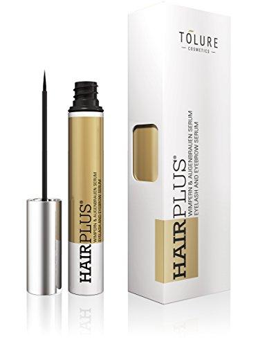 Tolure Cosmetics Hairplus, Wimpern- und Augenbrauenserum, 1er Pack (1 x 3 ml)