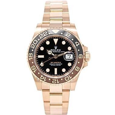 Rolex GMT-Master II 126715 18K Rose Gold Watch...