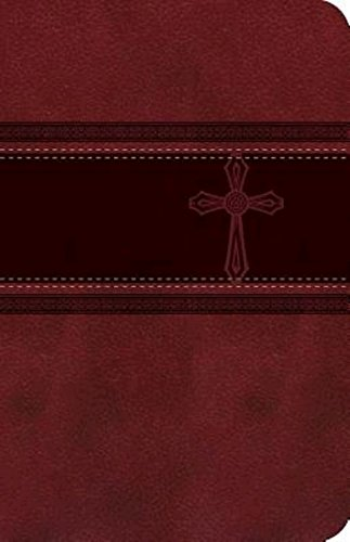 Compare Textbook Prices for CEB Common English Bible Compact Thin Red DecoTone with Cross Compact Edition ISBN 9781609261405 by Common English Bible