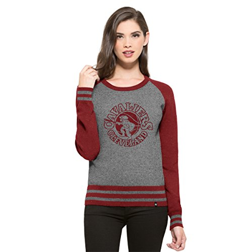 '47 NBA de la Mujer Neps Pullover Sweater - NBA Women's Neps Pullover Sweater, Slate Grey Neps