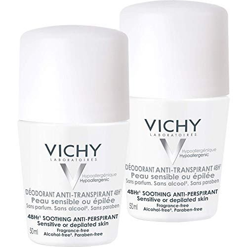 Vichy Deo Roll-on Sensitiv AntiTrans.48h Doppelp. 2 x 50 ml.