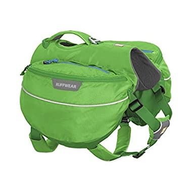 RUFFFWEAR Ruffwear - Approach Full-Day Hiking Pack for Dogs, Meadow Green, Large/X-Large