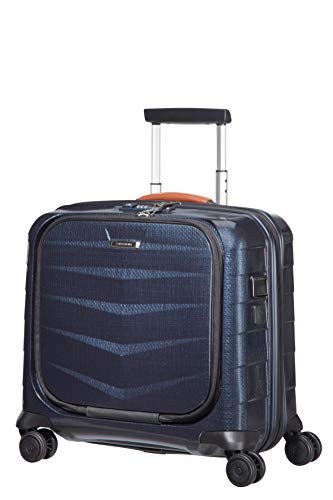 SAMSONITE Lite-Biz - Spinner with USB Port Laptop Rollkoffer, 44 cm, 30 Liter, Midnight Blue