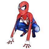 Piers Superhero Kids Bodysuit Costumes Spandex Onesie Suit Cosplay Full Jumpsuit Zentai,M