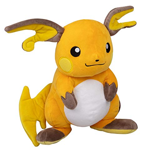 Pokémon Raichu Plush Stuffed Animal - Large 12'