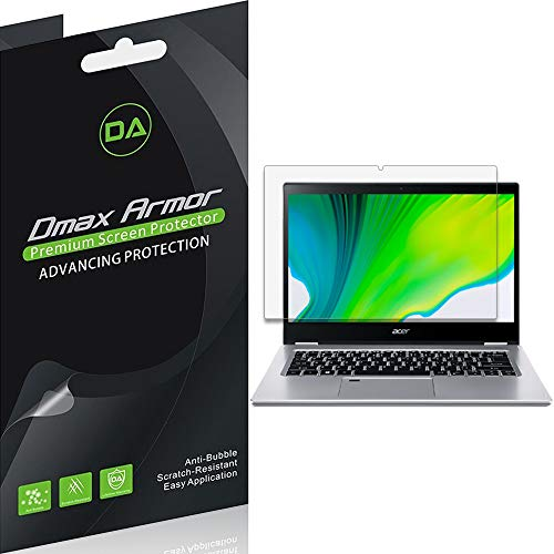 (3 Pack) Dmax Armor for Acer Spin 3 (SP314-53N-77AJ) 14 inch Anti Glare and Anti Fingerprint (Matte) Screen Protector