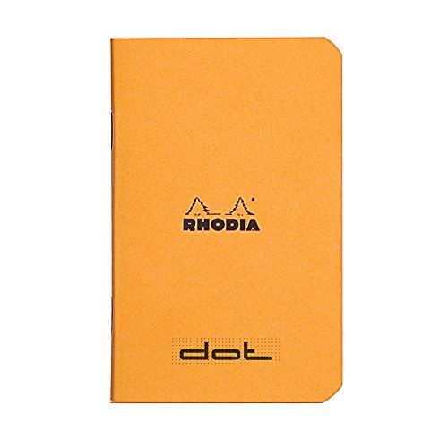 Rhodia Notizbuch, A7, gepunktet, Orange