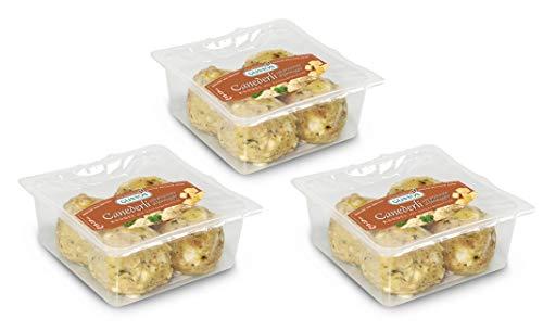 3 Packungen zu je 4 Käseknödel, nach traditionellem Rezept zubereitet