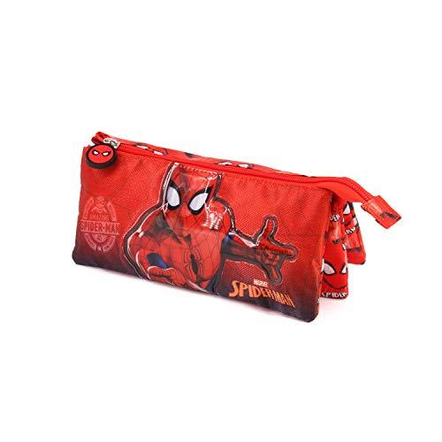 Spiderman Spiderweb-Estuche Portatodo Triple
