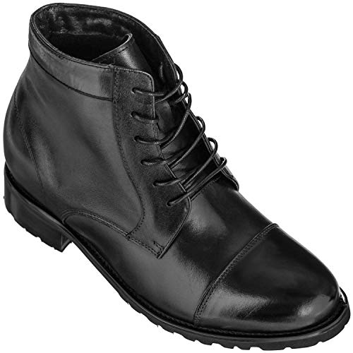 High Top Leather Dress Shoes for Men