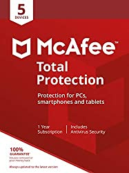 McAfee Total Protection includes award-winning antivirus which blocks viruses, malware, ransomware, spyware and unwanted programs from your devices. PASSWORD MANAGER: Store, auto-fill and even generate unique passwords for all of your online accounts...