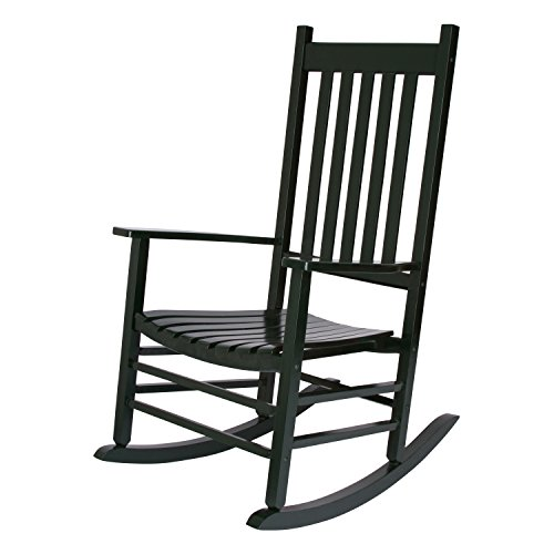 Shine Company 4332DG Vermont Rocking Chair, Dark Green