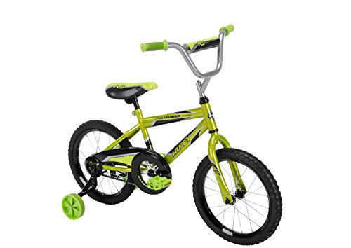 Huffy Bicycle Company Boys Pro Thunder Bike, Acid Green Metallic, 16'