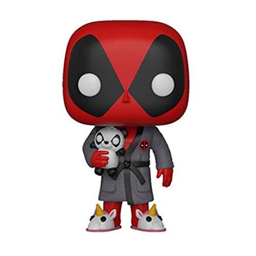 ZEwe Pop Lindo Deadpool EN VERSIÓN Pijama Mini Q Version 3.9UTCHES COLECCIÓN ACCIÓN PVC Figura EP PVC