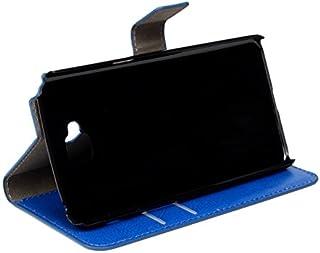 LG G Pro Lite Dual d686 ケース カバー 手帳型,【Huy】 本革 レザー マグネット無し スタンド機能