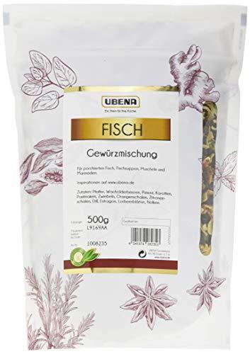 UBENA Fisch Gewürzmischung im wiederverschließbaren Vorratsbeutel, 2er Pack (2 x 500 g)
