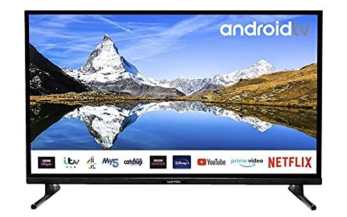 Qantec 32 Zoll Smart TV mit Android TV...