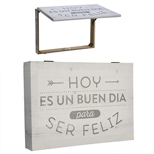 Tapa De Contador De Luz Diseño Frases Original 2m Medida 46x7x32 Cm Es Un Buen Dia Para Ser Feliz