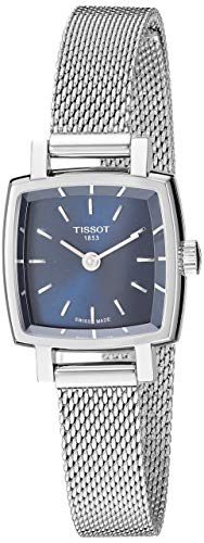 womens Lovely Stainless Steel Dress Watch Grey - Tissot T0581091104100