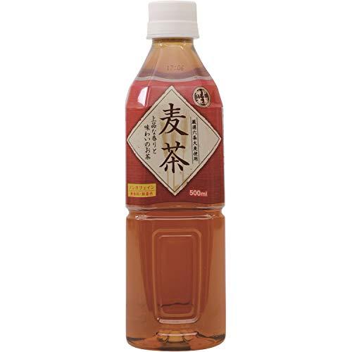 富永貿易 神戸茶房 麦茶 500ml×24本