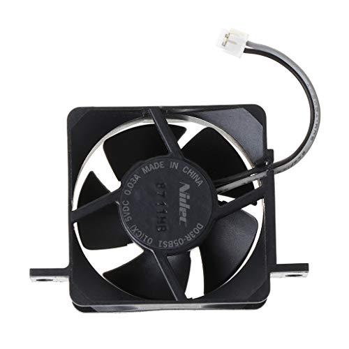 Desconocido Moregirl 1 Unidad de Ventilador de refrigeración Negro Incorporado para Nintend...