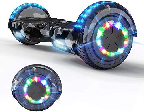 Desde aerotabla equilibrio scooters, patines, patín scooters scooter eléctrico de auto-equilibrio, con altavoces Bluetooth,A
