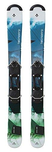 TECNOPRO Ski-Set Kurzski RPX 180 (Snowblade Länge / Farbe: 100cm - 900 blau/grün/lime)